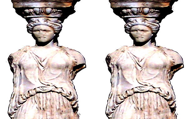 Female Stone Sculptures Found in Greece