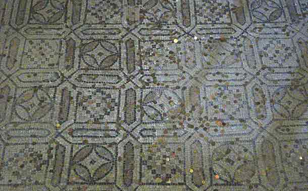 Beautiful Mosaic Flooring Uncovered in Greece