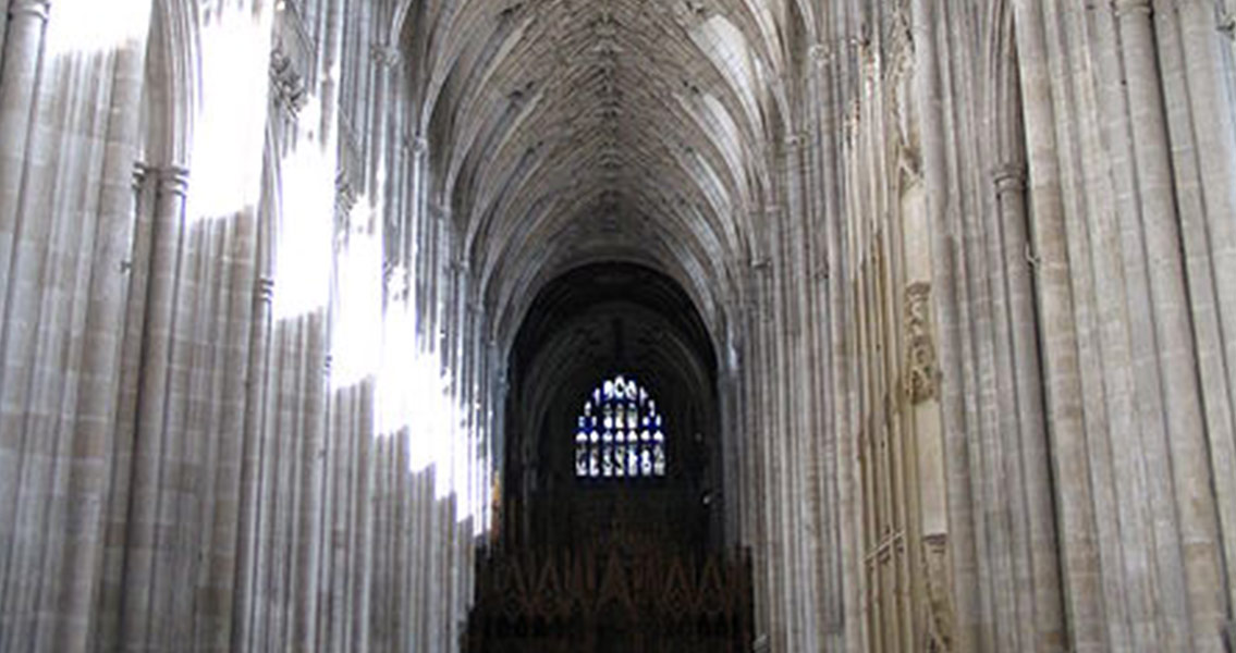 medieval cathedrals research Gothic architecture: an introduction this ribbed vaulting is another distinguishing feature of gothic architecture gothic windows at gloucester cathedral.