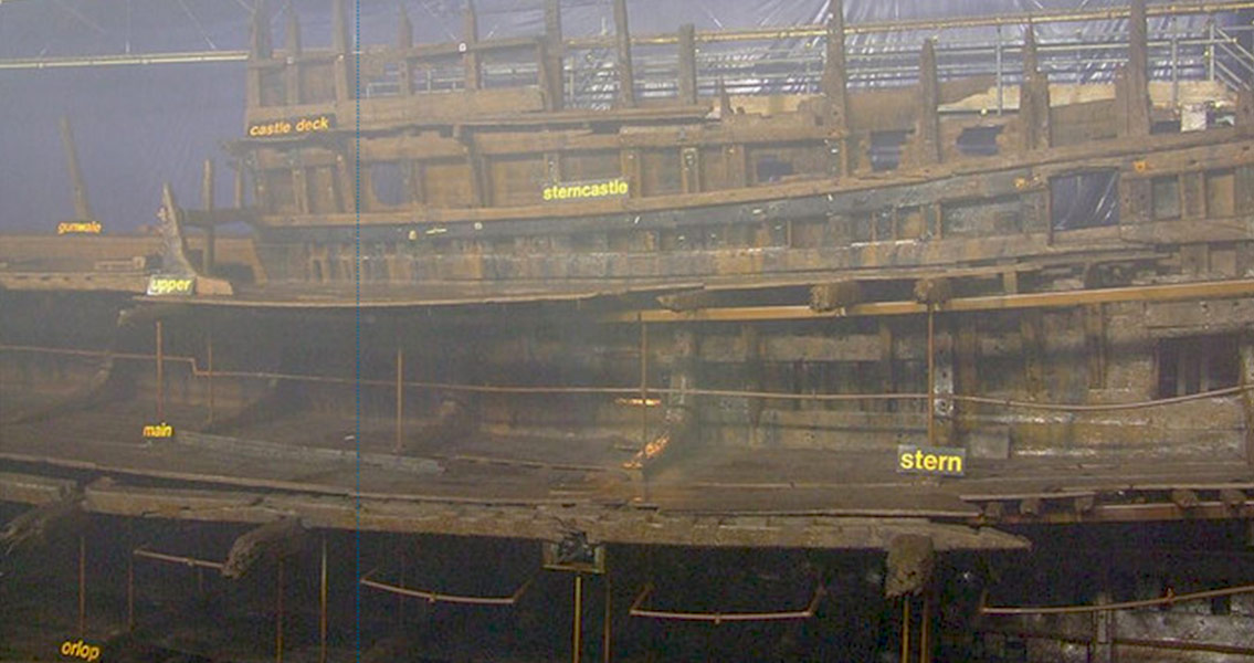 Bone Disease Found in 16th Century Sailors