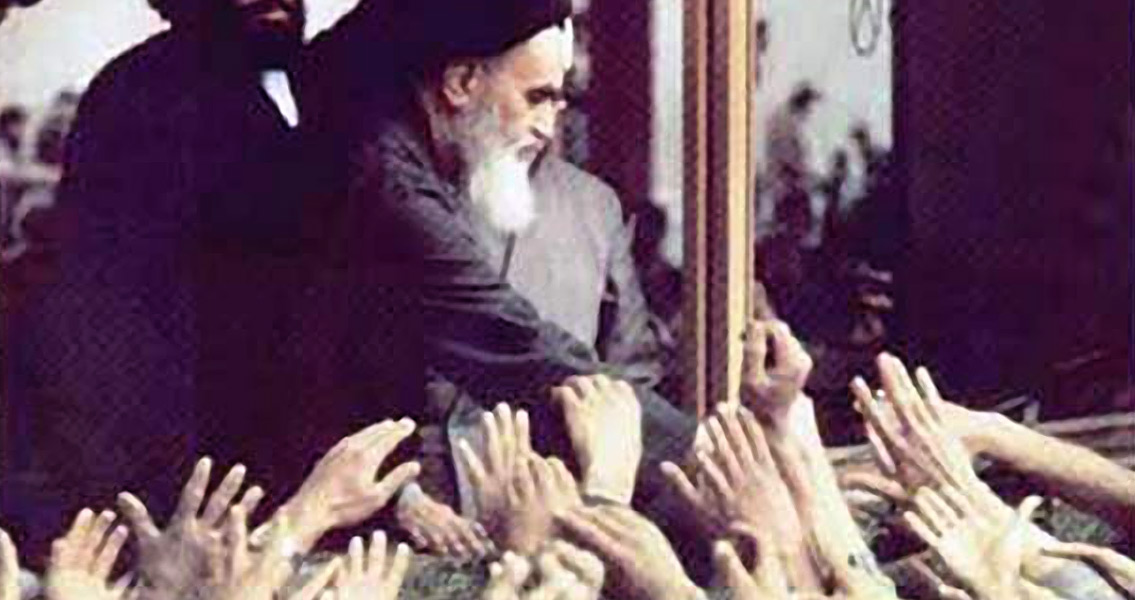 Ayatollah Khomeini Returns to Iran