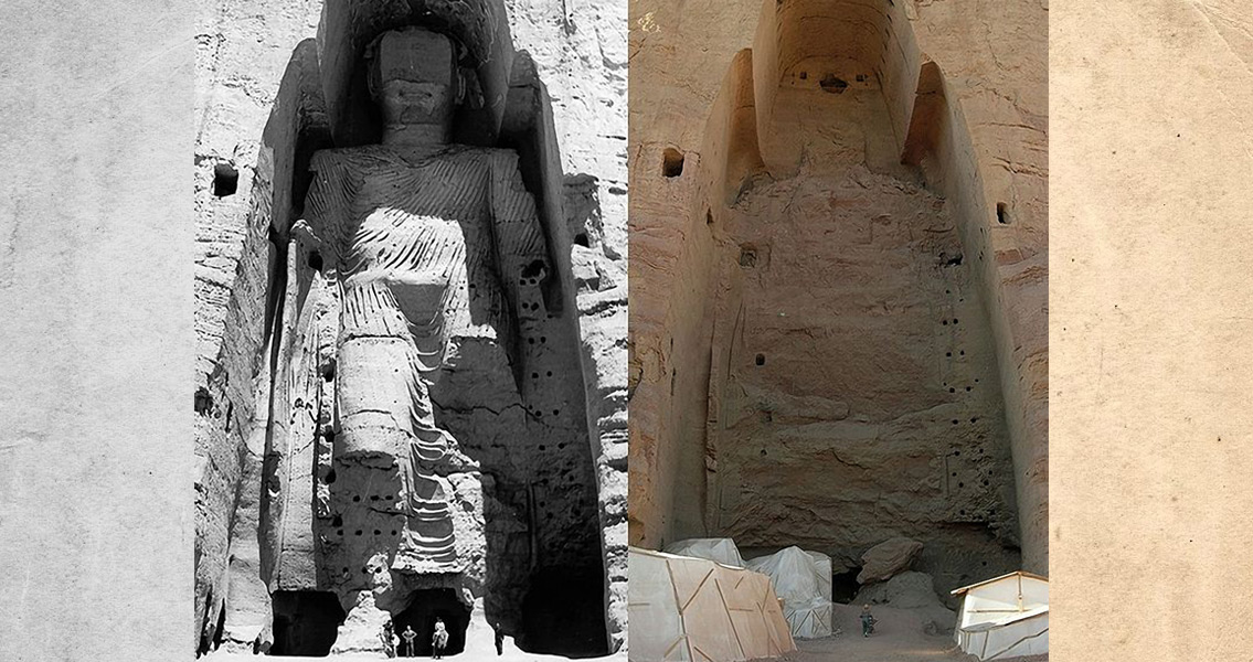 Controversy Over Bamiyan Buddhas
