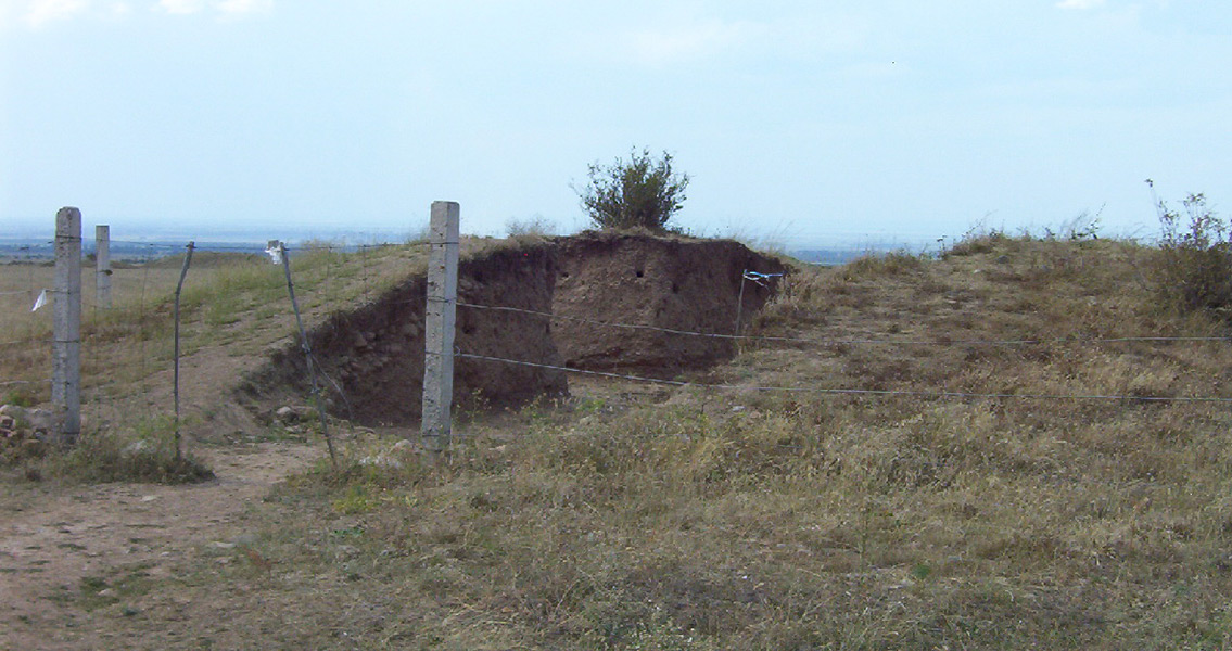 Ancient Kazakh Burial Mound Excavated