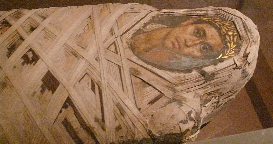 Ancient Egyptian Mummies Found in Sewage