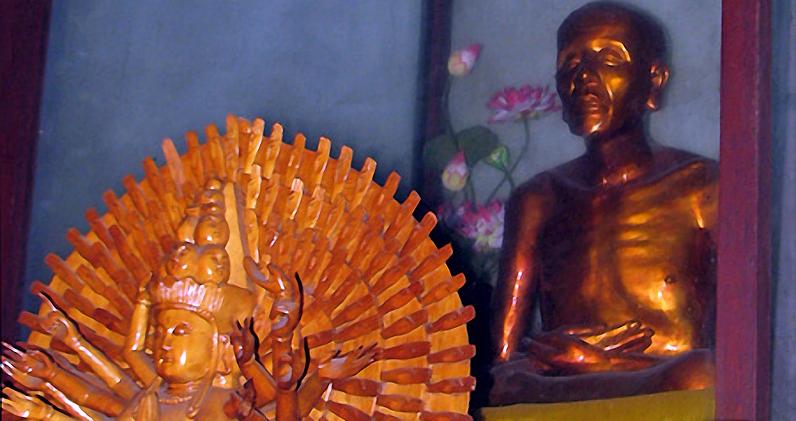 Mummified Monk Found In Buddha Statue