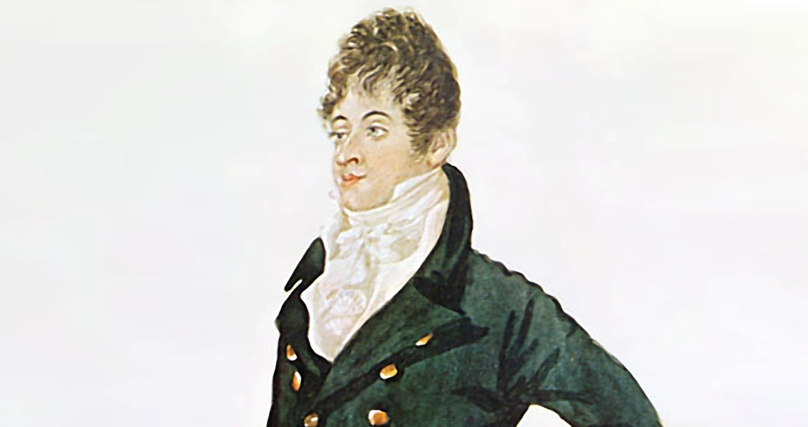 Beau Brummell Dies in A French Asylum