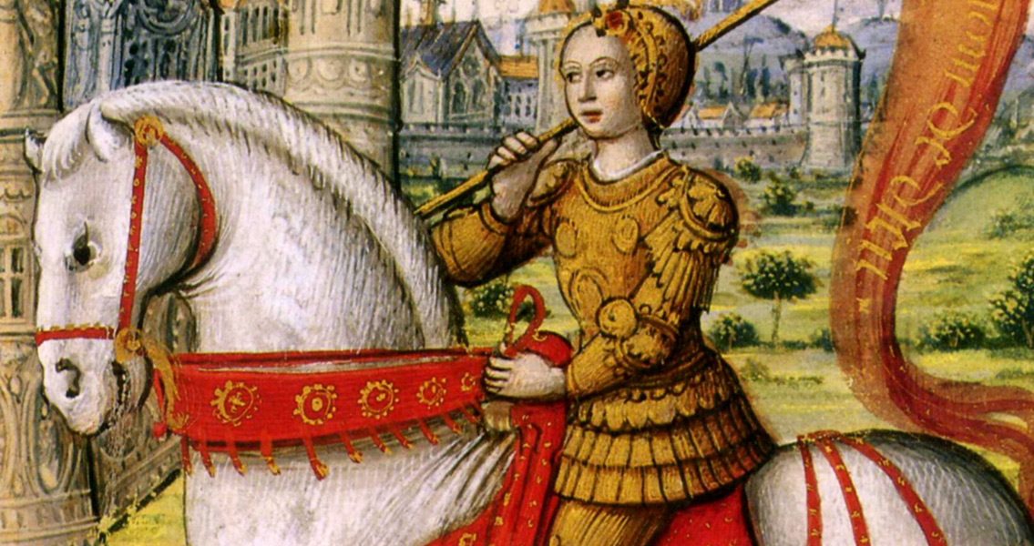 Joan Of Arc Saves Orleans