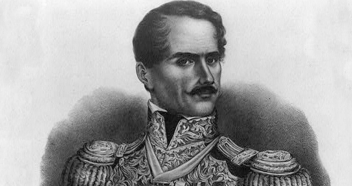 Antonio Lopez de Santa Anna Dies