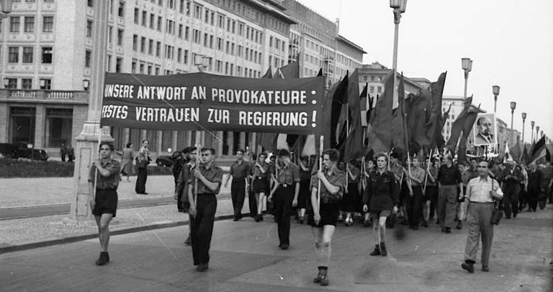 Soviet Soldiers Respond to Uprising in East Germany