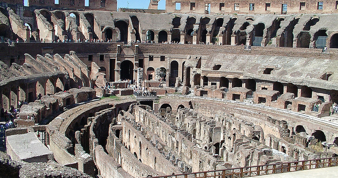 Scientists Recreate Colosseum Lift for Animals