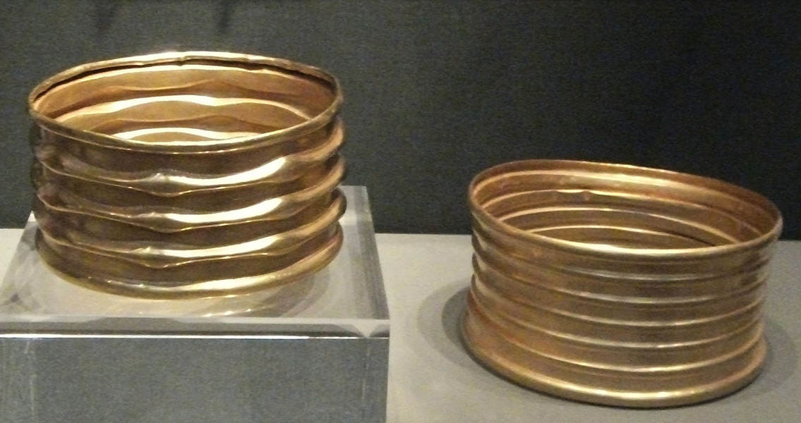 Bronze Age Gold Threads Unearthed in Denmark