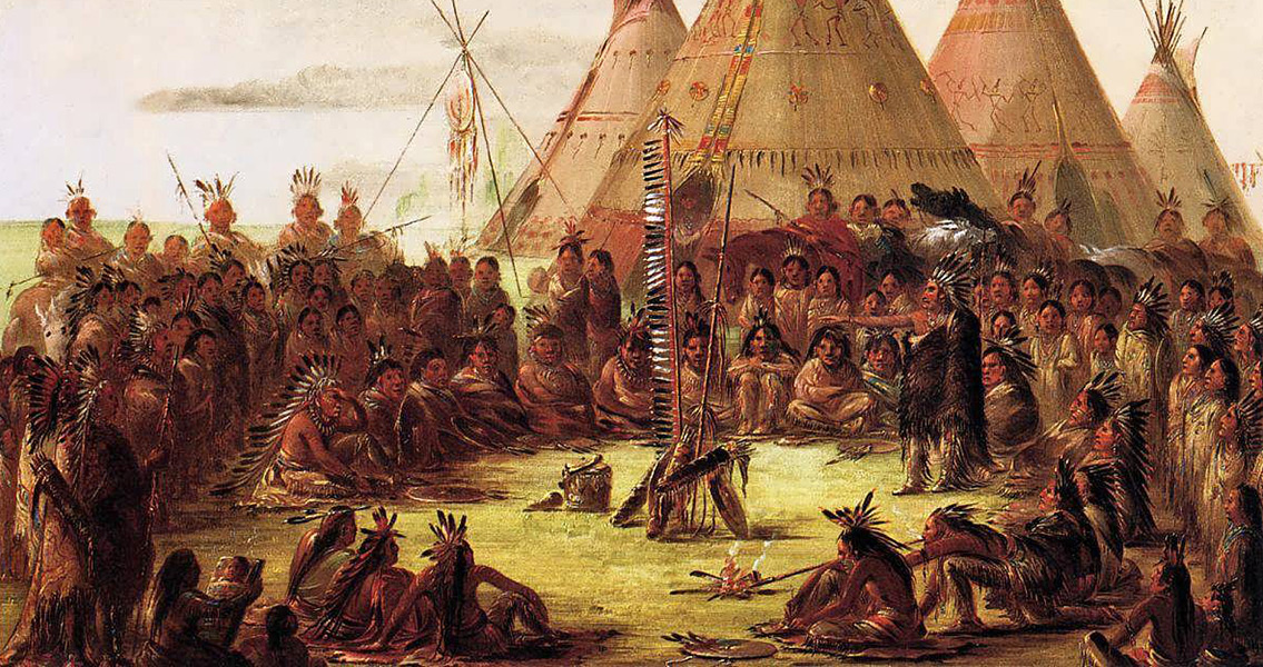 An analysis of the stories of native american indians