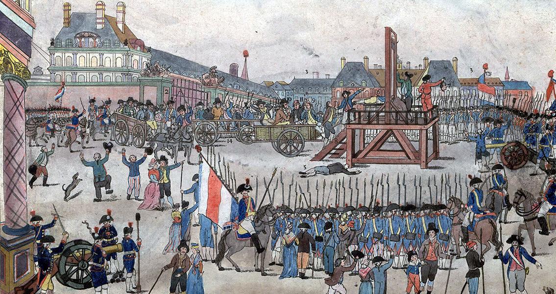 Robespierre Deposed