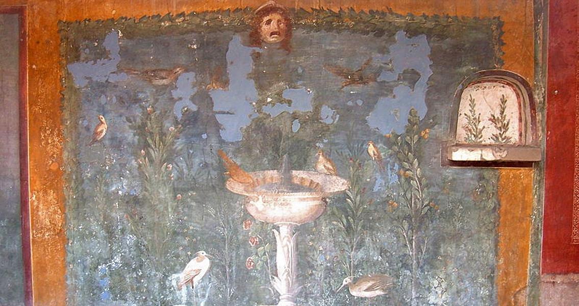 Rare Roman Mural Found in Arles