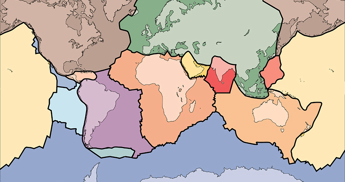 Did Tectonic Plate Movement Drive Evolution?