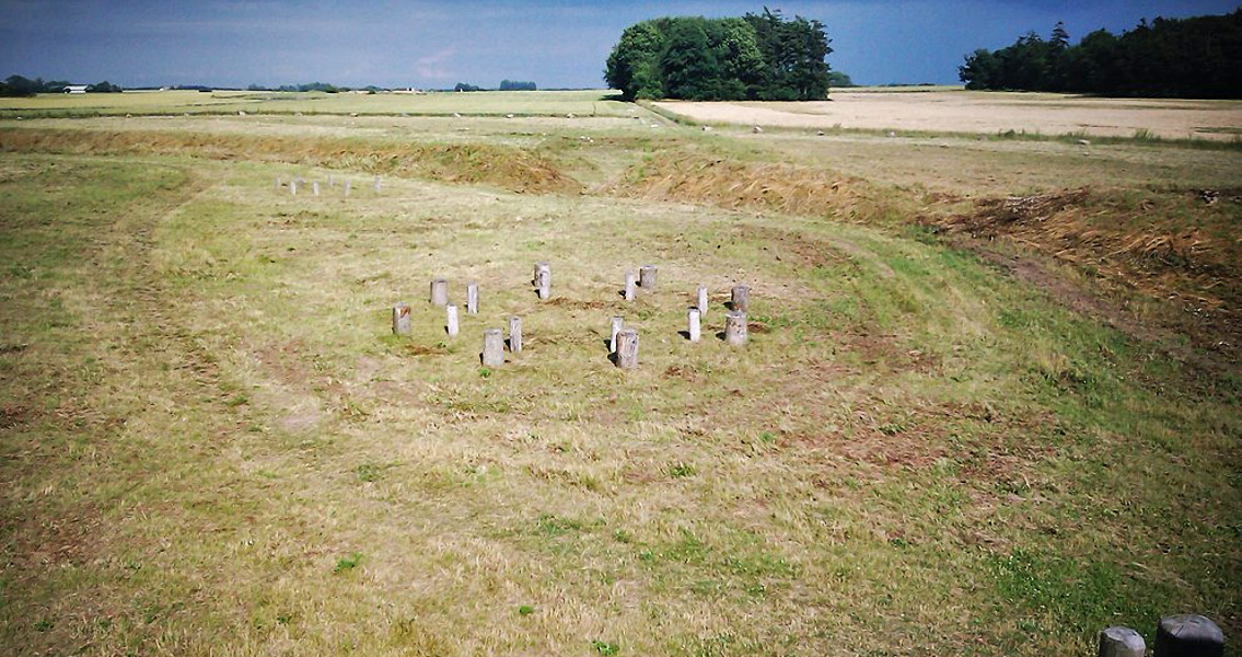 New Relics Discovered in Remains of Danish Sun Temple