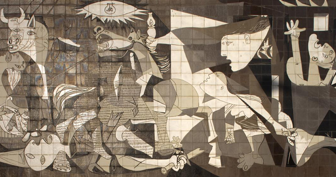 Picasso's Guernica Shown in Spain for the First Time