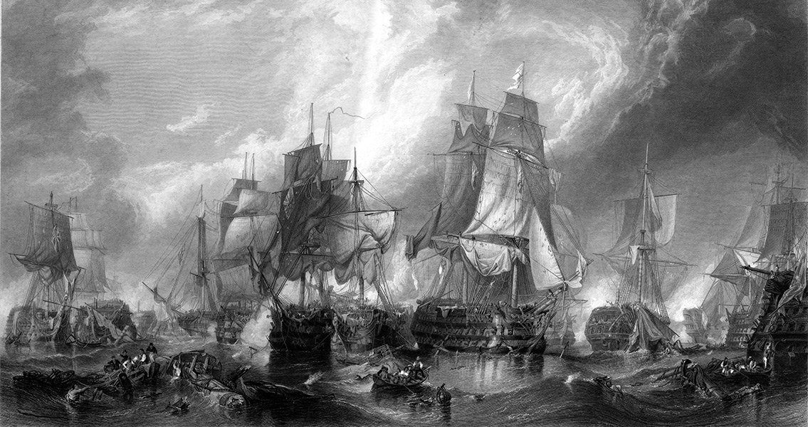 The Battle of Trafalgar - Architecture and Imperialism