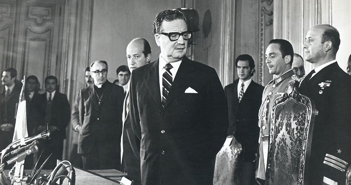 CIA Nemesis Allende Elected In Chile