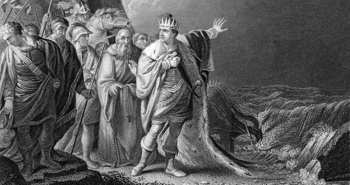 King Canute Seizes the Whole of England