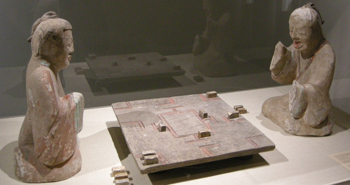 Tomb in China Yields Ancient Game Board and Pieces