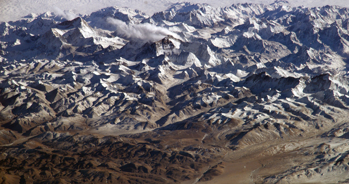Timeframe for Birth of Himalayas Narrowed Down