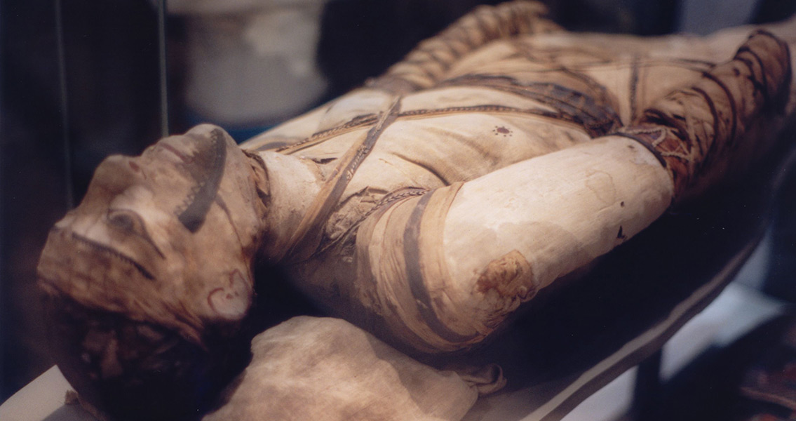 Scan Reveals New Method of Mummification