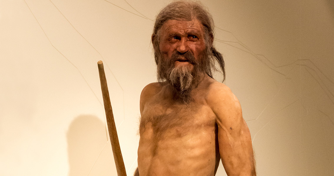 Oetzi Confirmed to be Oldest Tattooed Human