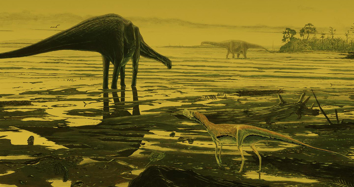 New Footprints of Old Dinosaurs
