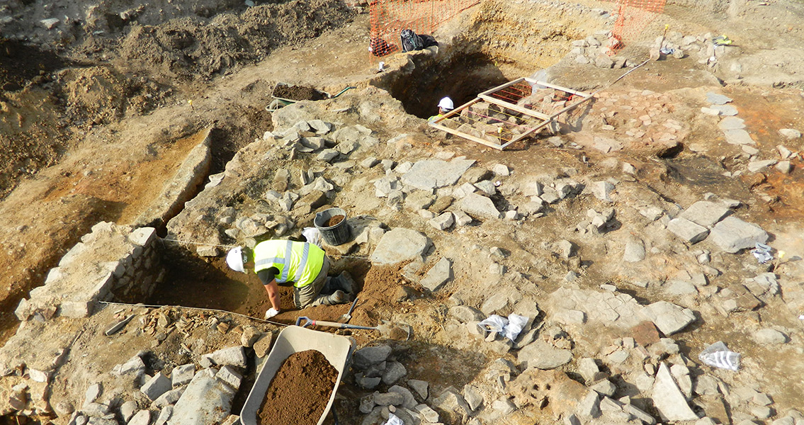New Excavation Finds Medieval Backyards Were Typical of Todays
