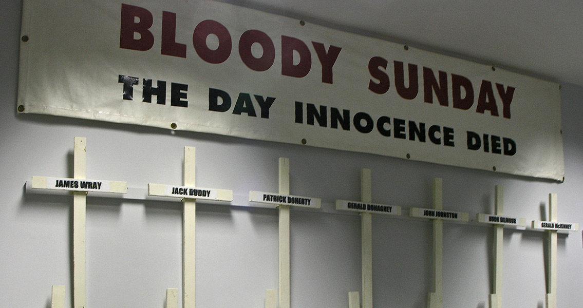 Bloody Sunday – British Troops Shoot Unarmed Protesters