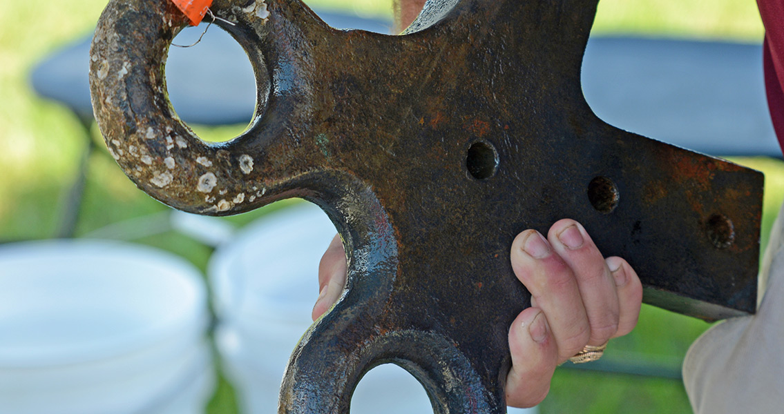 135 Tons of Treasure Returned to the Savannah River
