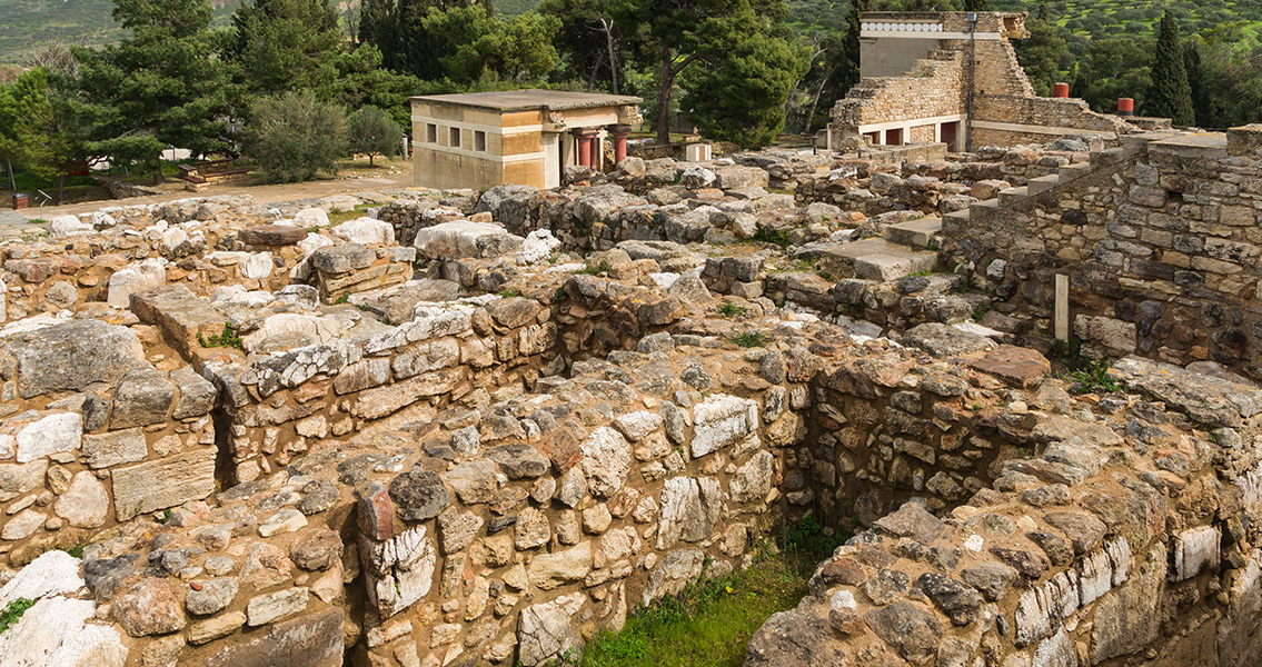Ancient City of Knossos Three Times Bigger than Thought