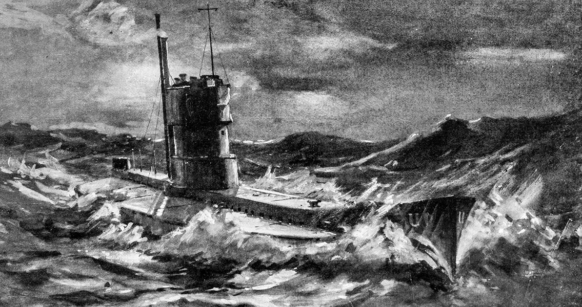 WW1 Era U-Boat Discovered off British Coast
