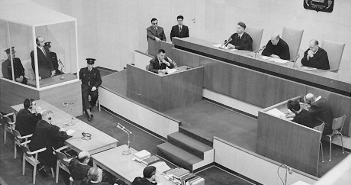 Nazi Adolf Eichmann's Letter Pleads Innocence