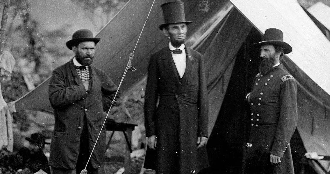 Pinkerton, Lincoln and McClemand (3)