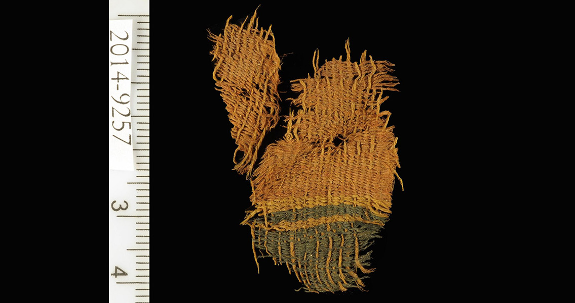 Newly Discovered Fabric Weaves Together Past and Present