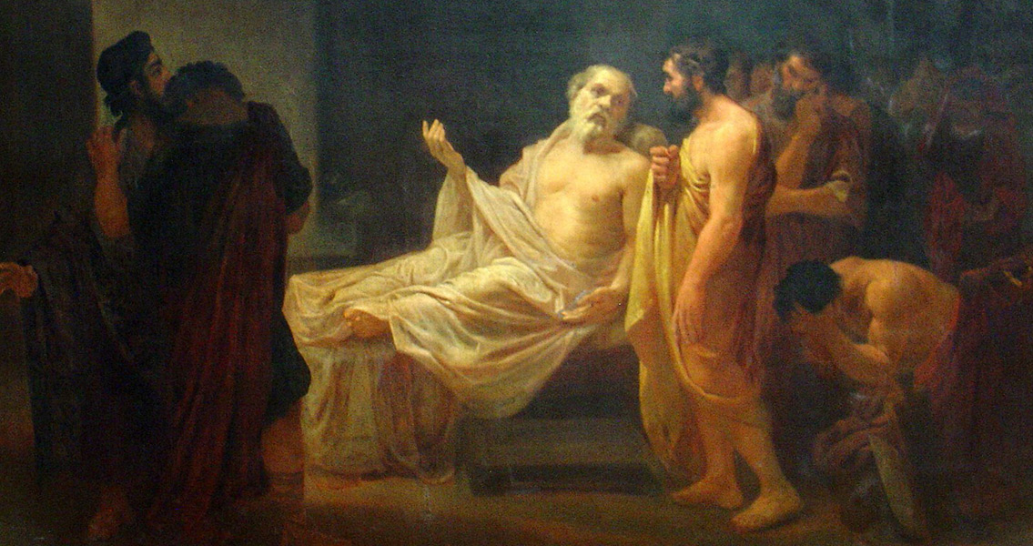 Socrates Sentenced to be his Own Executioner