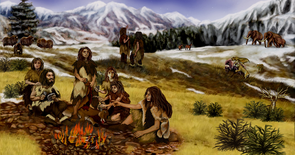 Neanderthals Capable of Chemically Assisted Fire Making