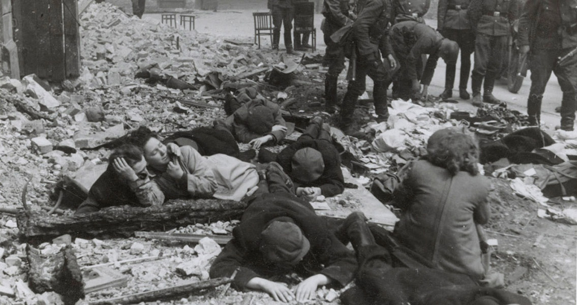 Jews Fight Back in Warsaw Ghetto Uprising