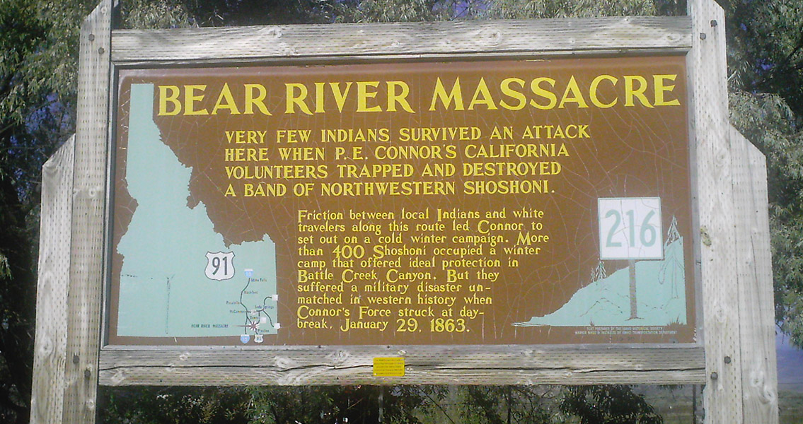 Site of Bear River Massacre Pinpointed by Historians