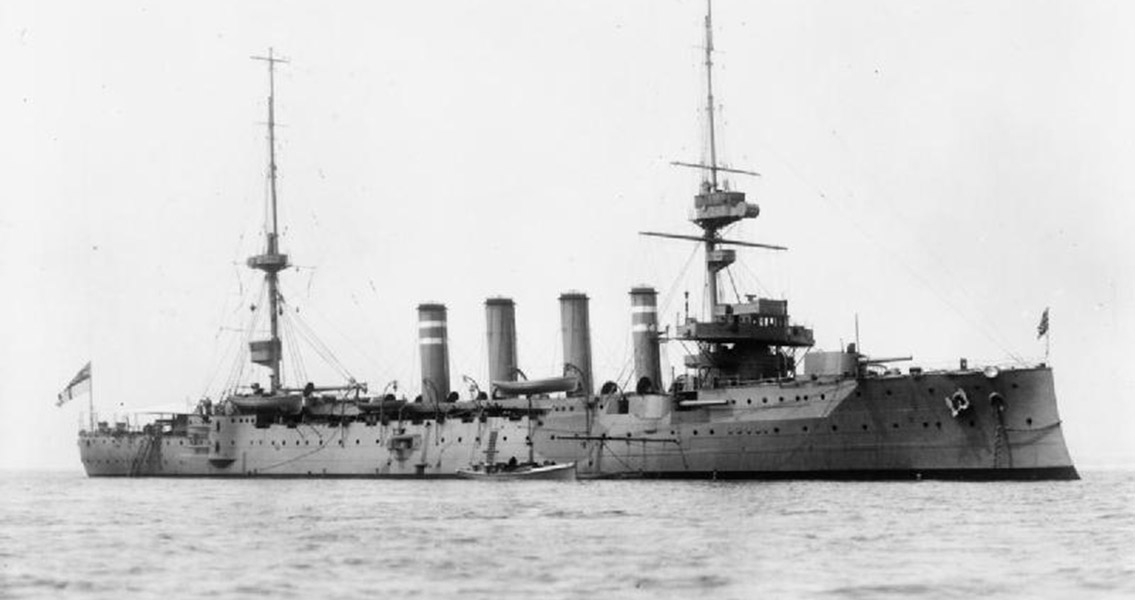 Wreck of WWI-Era British Navy Vessel Surveyed by ROV