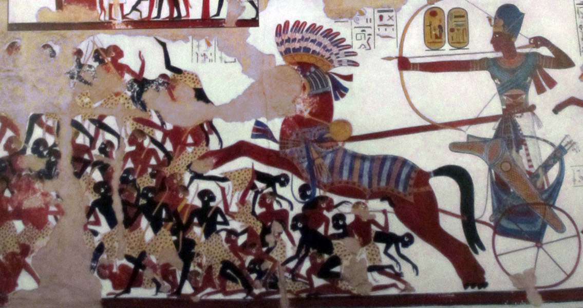 Tombs Show Ancient Egyptians and Nubians Integrated