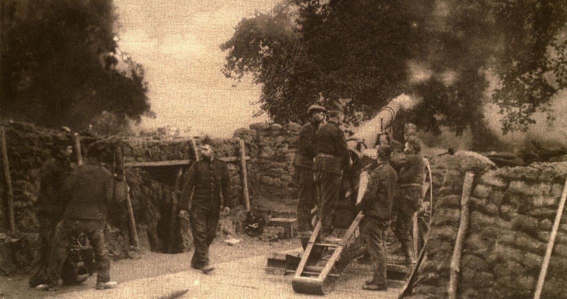 WW-1 Era Underground Bunker Brought to Light