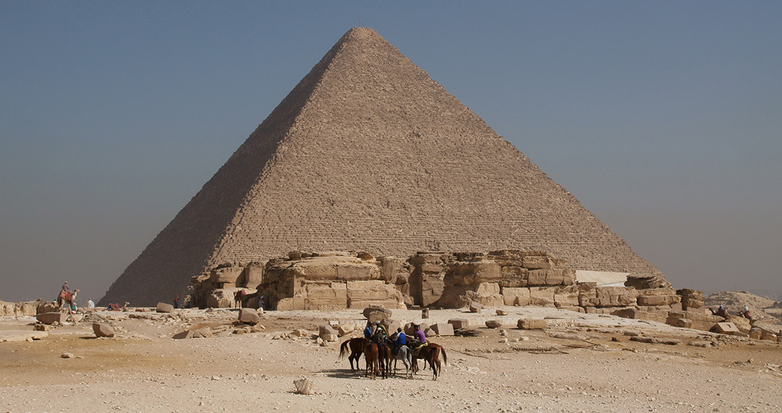 Measure Twice, Cut Once. Pyramid Building is no Exception