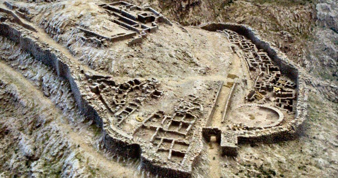 Ancient Fragment of Mythical Mycenaean Throne Found?