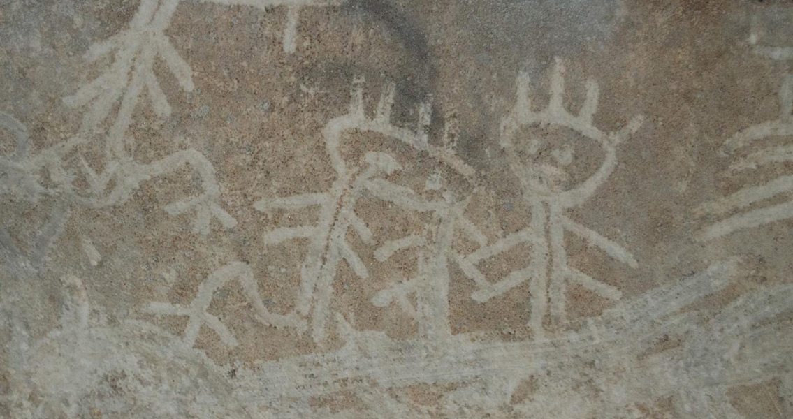 Spiritual Cave Inscriptions Show New World Meeting the Old