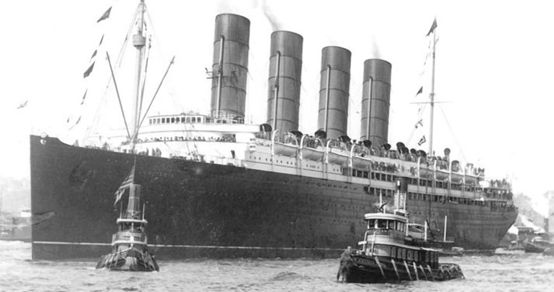 Wilson Protests Sinking of the RMS Lusitania