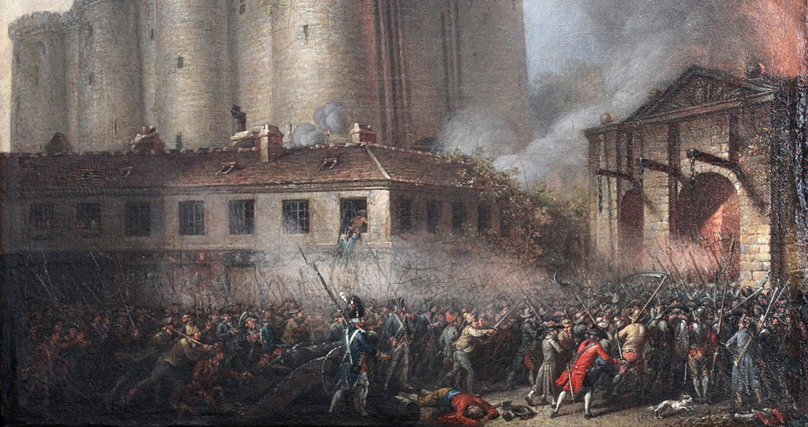 The Anniversary of the Storming of the Bastille