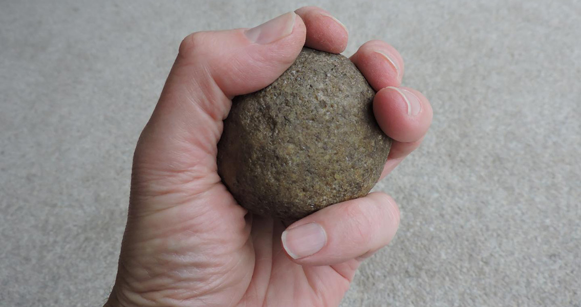 Mysterious Stone Spheroids Were Hunting Weapons
